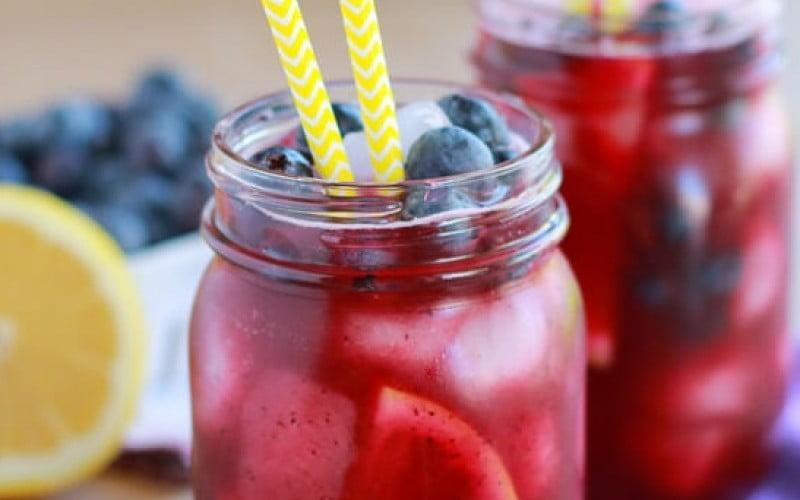 Mėlynių limonadas