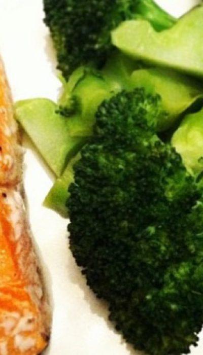 Lašiša su garintais brokoliais