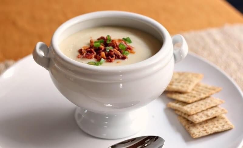 Kalafiorų sriuba