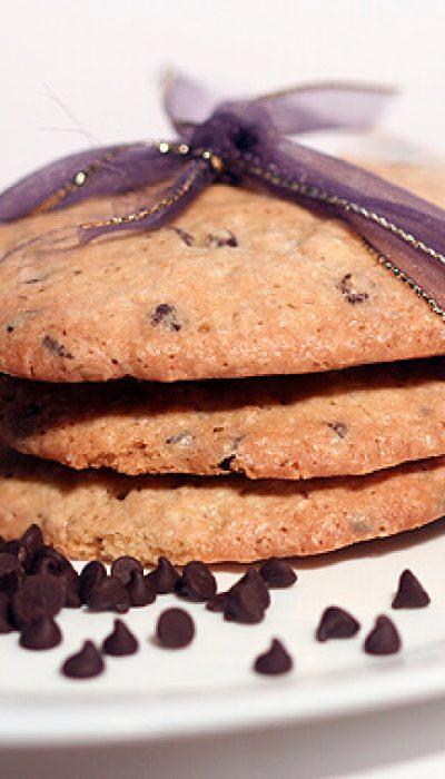 Avižiniai sausainiai su šokolado traškučiais