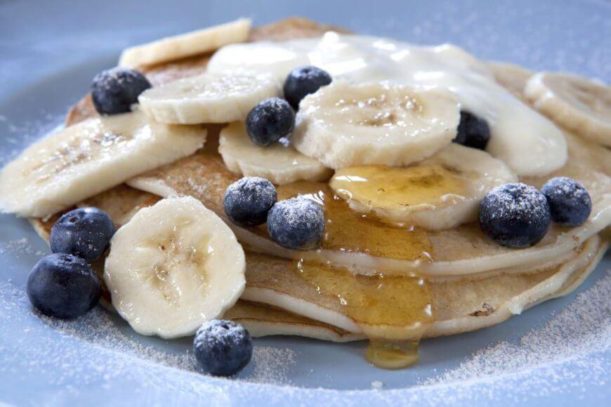 Bananiniai pusryčių blynai