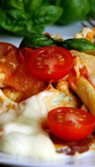 Itališka kiaušinienės improvizacija
