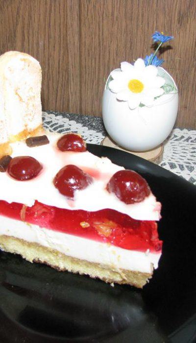 Jogurtinis mascarponės tortas