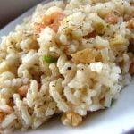 Ryžiai su krevetėmis ir česnakais