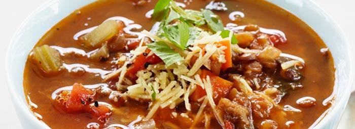 LęšIų ir daržovių sriuba