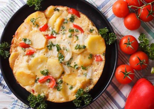 Daržovių omletas