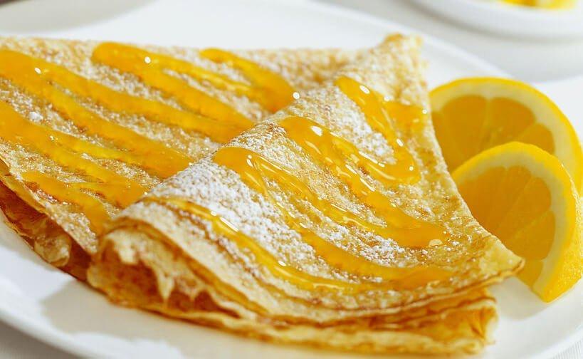 Prancūziški lietiniai su apelsinais