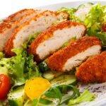 Gardžios salotos su vištiena