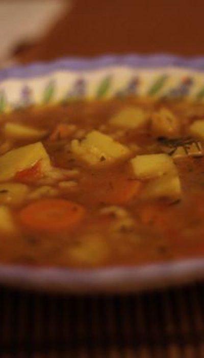Stebuklinga sriuba iš visko