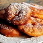 Švelnios obuolių spurgos