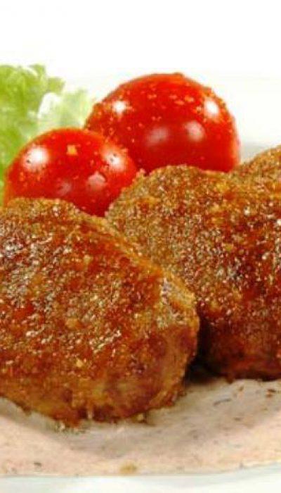 Žuvies kotletai su mėsa