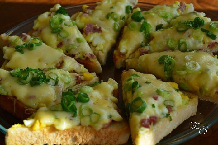 Karšti sumuštiniai su kiaušiniais
