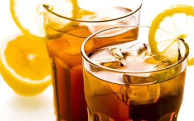 Šalta apelsinų arbata