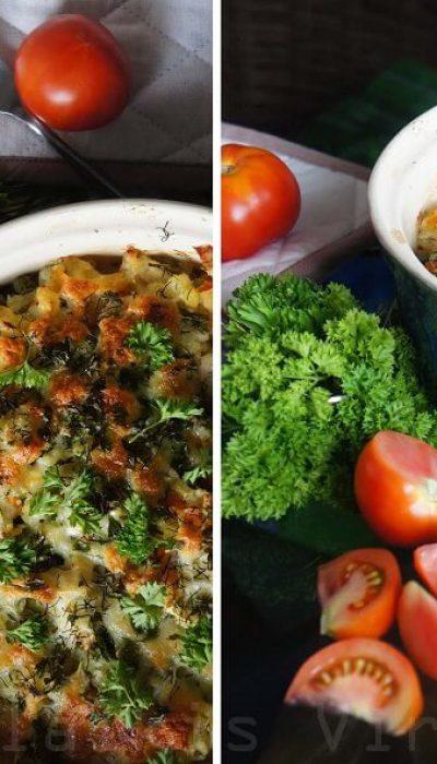 Žuvies ir bulvių apkepas