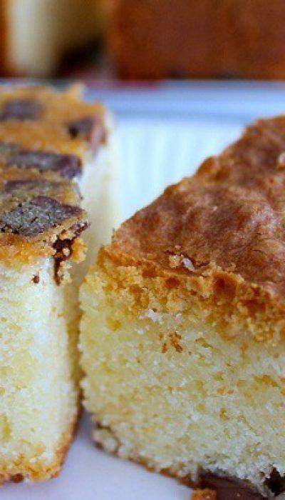 Baltojo šokolado pyragas
