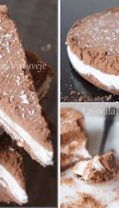 Kokosinis ledų tortas