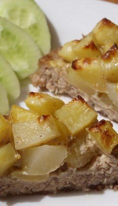 Maltos mėsos krepšeliai su bulvėmis