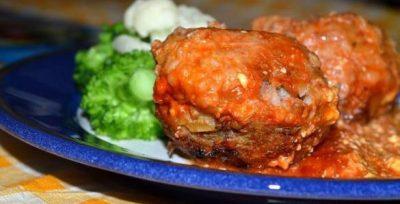Mėsos ir grikių kukuliai