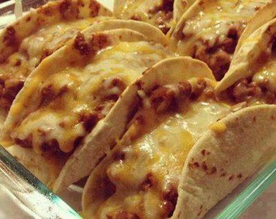 Orkaitėje kepti taco