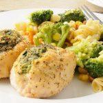 Paukštienos maltiniai su brokoliais