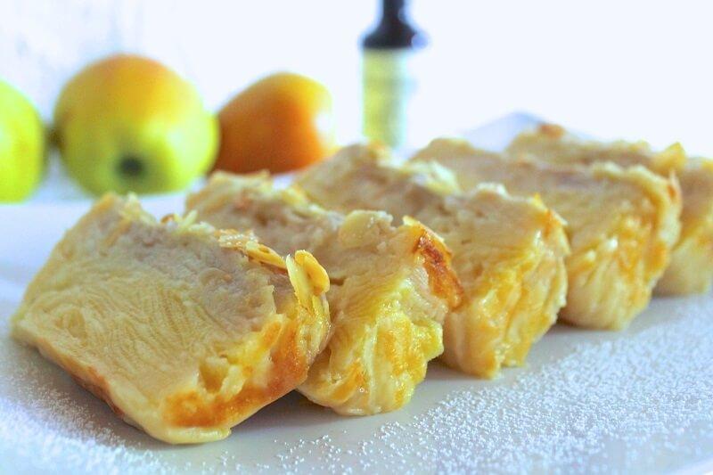 Šilkinis obuolių pyragas