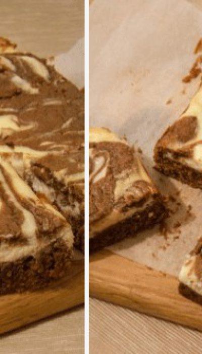 Šokoladinis pyragas su kreminiu sūriu